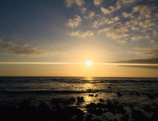 Sonnenschein auf Teneriffa