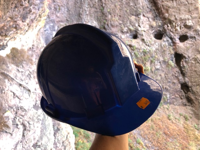 Helm für Wanderung