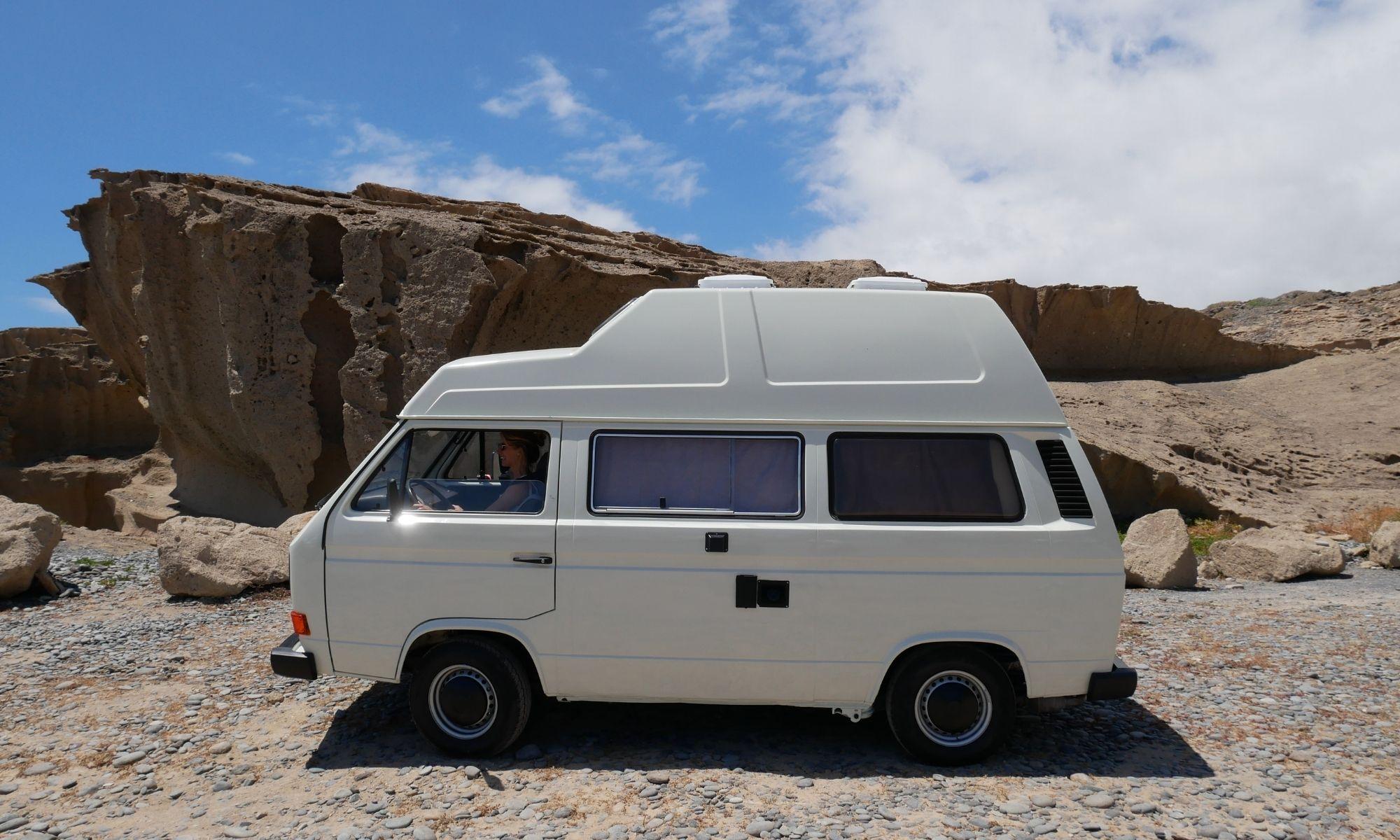 Camping auf Teneriffa mit Bus