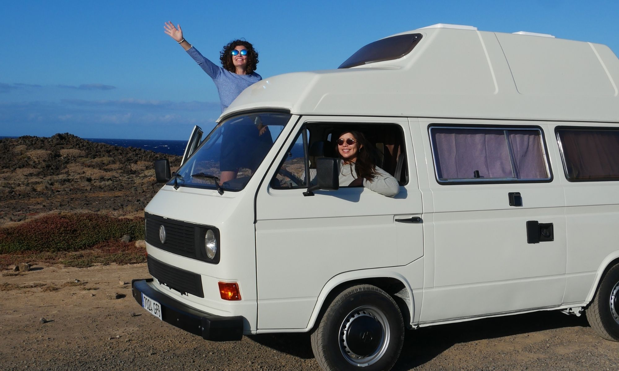 Camping auf Teneriffa mit Bulli