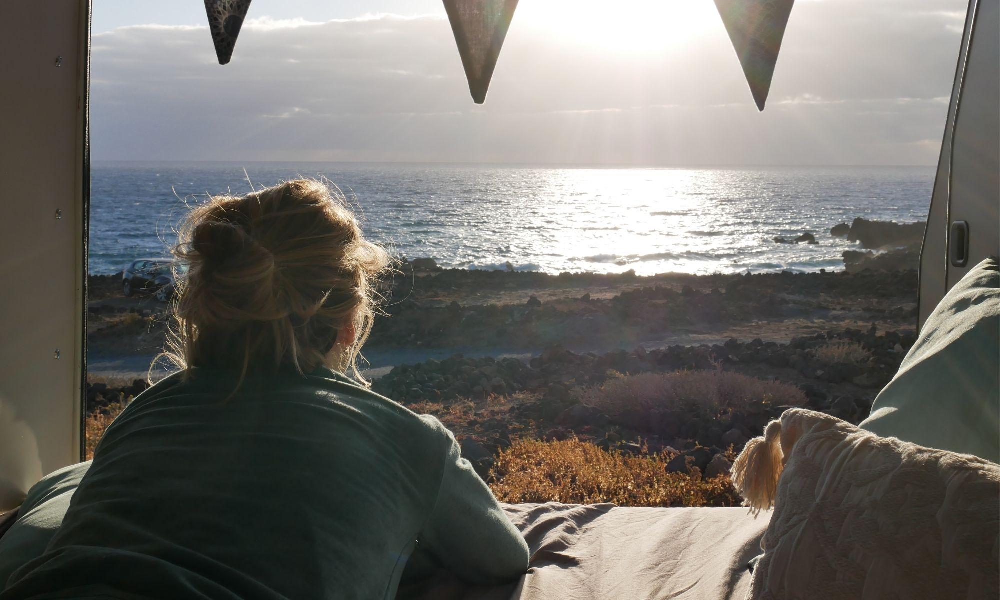 Teneriffa Camping mit Bulli